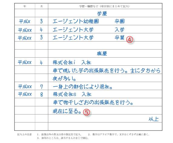 履歴書例02